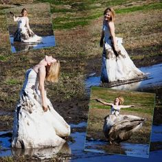 Mud I want to do this with my dress