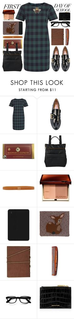 """""""upper east side"""" by foundlostme ❤ liked on Polyvore featuring Nicole Saldaña, Whistles, Fendi, Clarins, Speck, Zara Taylor, Baxter of California, Gucci and BackToSchool"""