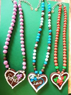 Fimo heart Folklore handmade by kreakette Folklore, Turquoise Necklace, Polymer Clay, Resin, Heart, Handmade, Jewelry, Fashion, Fimo