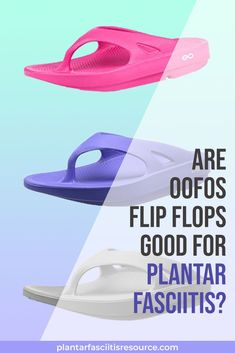 We did a little research and found that Oofos flip flops are a great choice for heel pain. They have great arch support, plenty of cushion and people really feel they help alleviate pain caused by plantar fasciitis. Best Workout Shoes, Plantar Fasciitis Shoes, Ankle Mobility, Foot Pain Relief, Sore Feet, Foot Reflexology, Heel Pain, Injury Prevention, Feet Care