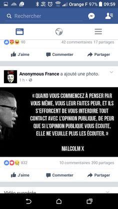 Malcolm X Penser par soi-même interdiction