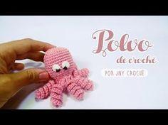 Polvo de crochê receita passo a passo - JNY Crochê - YouTube
