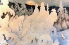 The Forest Court - Theodor Severin Kittelsen Theodore Kittelsen, Most Popular Artists, Candy Art, Art Database, Scandinavian Christmas, Scandinavian Art, Jpg, Nature Paintings, Retro Design