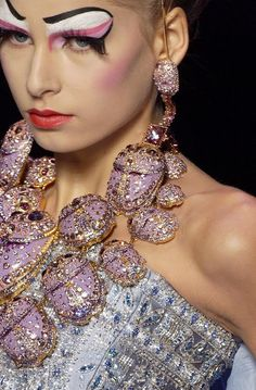 Makeup Artist :  Christian Dior Spring 2004 Couture