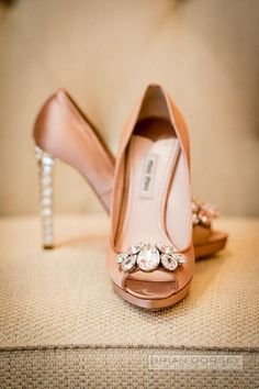 wedding shoes; photo: Brian Dorsey Studios