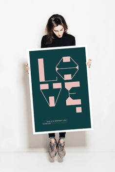 This is no ordinary love. Our new design poster is available in five colours.