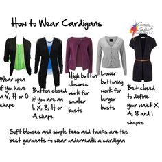 How to wear a cardigan, created by imogenl on Polyvore