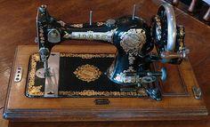 Antiques Atlas - Jones Family Vintage Sewing Machine
