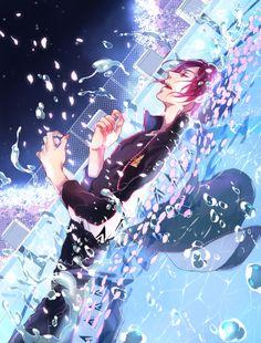 Free! Iwatobi Swim Club - Haru Nanase x Rin Matsuoka - RinHaru