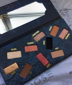 Have never seen a dose of colours pallete but shall i try one, they look amazingly pigmented.