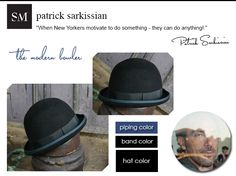 Patrick Sarkisian designed a limited edition collection hat for our kickstarter campaign. it's gorgeous!