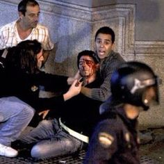La sangre del pueblo derramada #25S #29S #madrid #españa #revolucion #soynadie @soynadie #acab #photo #foto #press #prensa #manifestacion #democracia #ciudadanos