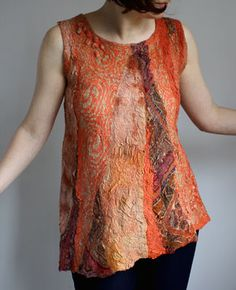 nuno felted top