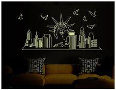 New York city Souvenir Wall Sticker