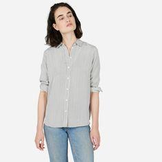 $128 Everlane Relaxed Silk Shirt