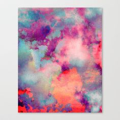 Untitled (Cloudscape) 20110625p Stretched Canvas by Tchmo - $85.00