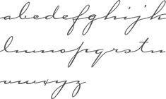 dainty script tattoos - Google Search