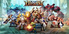 Magic Legion Triche Astuce Gemmes et Or Illimite - http://jeuxtricheastuce.com/magic-legion-triche/