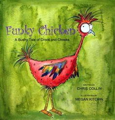 Funky Chicken Dance Clip Art | Cartoon Chicken Dance ...