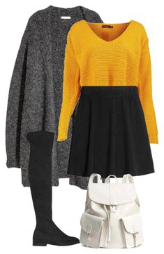 """#190"" by mintgreenb on Polyvore featuring H&M and Boohoo"
