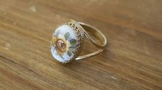 Stone Ring Gemstone Ring Gold Stone Ring Handmade Rings