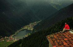 Uzun göl. Trabzon