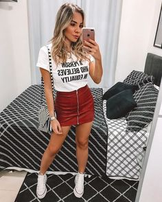 Classy Outfits, Outfits For Teens, Trendy Outfits, Cool Outfits, Style Casual, Casual Looks, My Style, Girl Fashion, Fashion Outfits