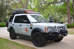 Roof Top Tent Rack for Land Rover Discovery 3 - 4x4 roof racks