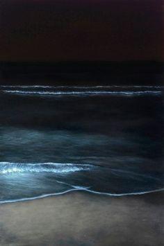 "(c) Elsa Muñoz / Nightshore 1 | 2012 | 60"" x 40"" | oil on panel / www.elsamunoz.com"