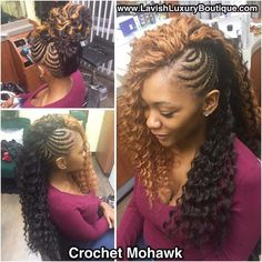 Braids with weave mohawk 50 Ideas Box Braids Hairstyles, Braided Mohawk Hairstyles, Braided Hairstyles For School, Mohawk Braid, Braided Hairstyles For Wedding, Twist Braids, Girl Hairstyles, Hair Updo, Hairstyle Ideas