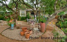 Lovely very Austin-weird gardens. Great gardening ideas.  Susana Stone Realtor@ in Austin, TX  Jb Goodwin Realtors