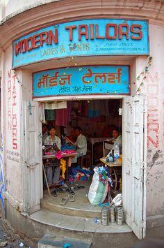 Tailor Shop, Colaba Market, Mumbai (Bombay), India