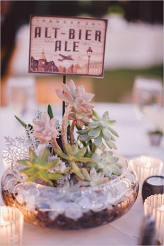 Beer table table names @weddinghchicks