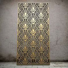 Miles and Lincoln - the UK& leading designer of laser cut screens for decorative interior panels, external architectural cladding, balustrades and ceilings Laser Cut Screens, Laser Cut Panels, Laser Cut Metal, 3d Laser, Design Art Nouveau, Motif Art Deco, Art Deco Pattern, Art Deco Print, Art Patterns