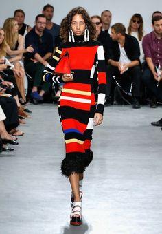 d777f0d6c0 9 Best Fashion Week, Stripes images in 2017 | Fashion Show, London ...