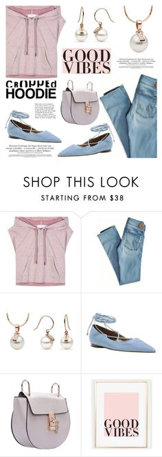 """""""Cute Trend: Cropped Hoodies"""" by pearlparadise ❤ liked on Polyvore featuring adidas, American Eagle Outfitters, Michael Kors, Anja, contestentry, pearljewelry, CroppedHoodie and pearlparadise"""