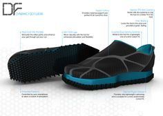 Dynamic Footwear by Christoph Döttelmayer, via Behance