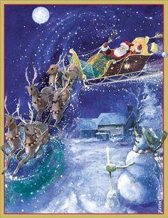"""""""Santa & Reindeer"""""""