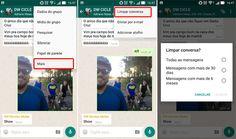 Como excluir pastas de documentos, fotos e vídeos do Whatsapp no Smartphone