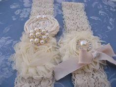 Vintage Bridal Garter