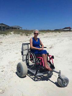 Beach wheelchair ramp                                                                                                                                                     More