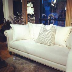 Oscar ZGallerie sofa. Classic, chic timeless. $1299