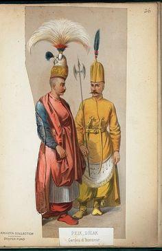 Ottoman Peik (right), Solak (left).