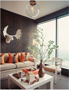 Dekoideen Wohnzimmer Orange 29 Ideen Frs Wohnzimmer Streichen ... Ideen Frs Wohnzimmer Streichen