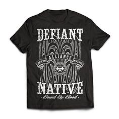 Defiant Rocker Moko Tee My Spirit, Tees, Mens Tops, Clothes, Maori, T Shirts, Clothing, Tee Shirts, Teas