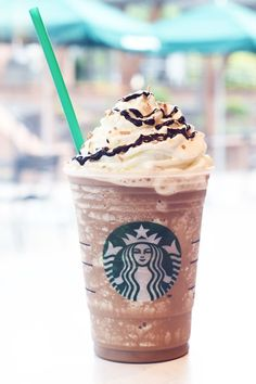 Frappuccinos used to look VERY different... #CoffeeDrinks