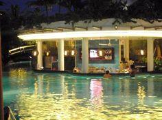 Swim up bar? Sure I will.   Padma Resort Bali at Legian, Legian