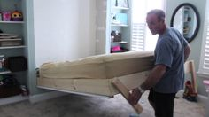 DIY wall bed - DIY murphy bed. (My dad is showing you how it works… a much requested video!) My dad & my husband built this wall bed and so many of you have ...