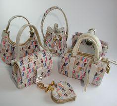 Miniaturas bolsos: Bolsos homenaje multicolor