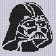 Name: 'Embroidery : Darth Vader Stitch Pattern Cross Stitching, Cross Stitch Embroidery, Embroidery Patterns, Hand Embroidery, Cross Stitch Patterns, Star Wars Crochet, 8bit Art, Pixel Pattern, Perler Patterns